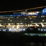 Norwegian Star at night 3