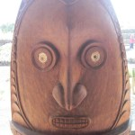 Totems in Tenerife Piramides de Guimar park on TravelXena.com
