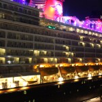 Disney-Dream-at-night-Nassau-Bahamas-TravelXena-5