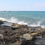 Great-Stirrup-Cay-Water-Hitting-Rocks-TravelXena-7