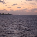 Norwegian-Jewel-Sunset-Royal-Caribbean-Ship-3
