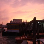 Venice-Pink-Sky-Evening-TravelXena.com