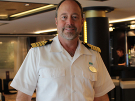 Captain Evans Hoyt of the Norwegian Breakaway