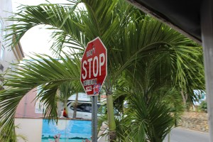 Dont Stop Believing Stop Sign St John TravelXena