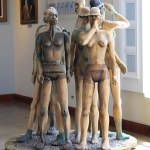 African Sculpturein Bermuda National Gallery Travel Xena 1