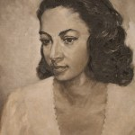 Georgine Hill Lucy Davis 1950 Bermuda National Gallery Travel Xena 3