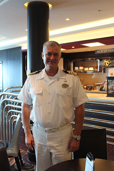 Interview Chat with Captain Mikael Hilden of the Norwegian Breakaway - Part 1