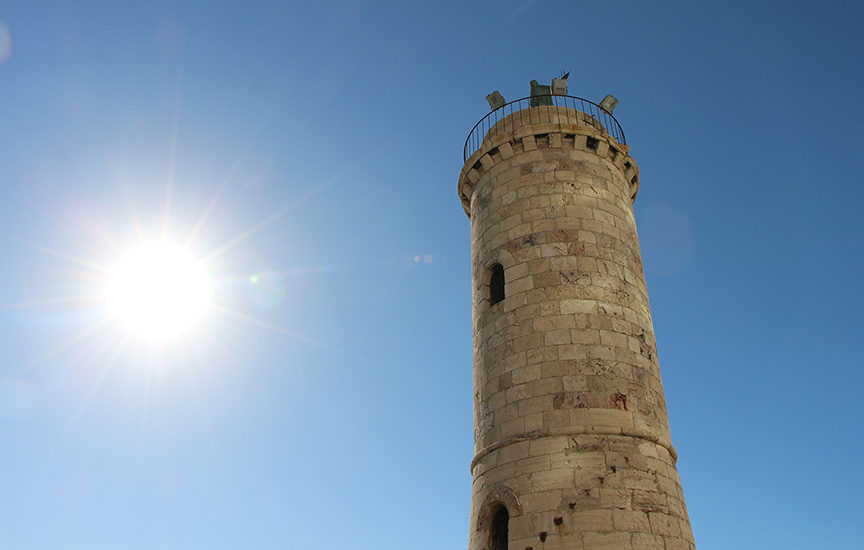 Lighthouse in Civitavecchia