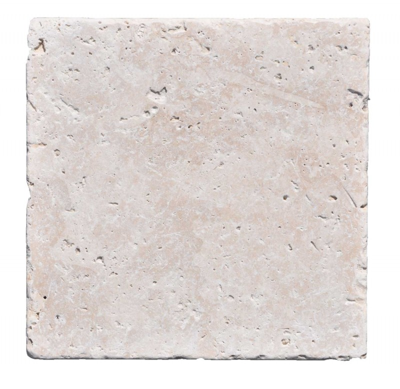 24x24 Pavers Premium Select 12x12 Ivory Tumbled Travertine Pavers