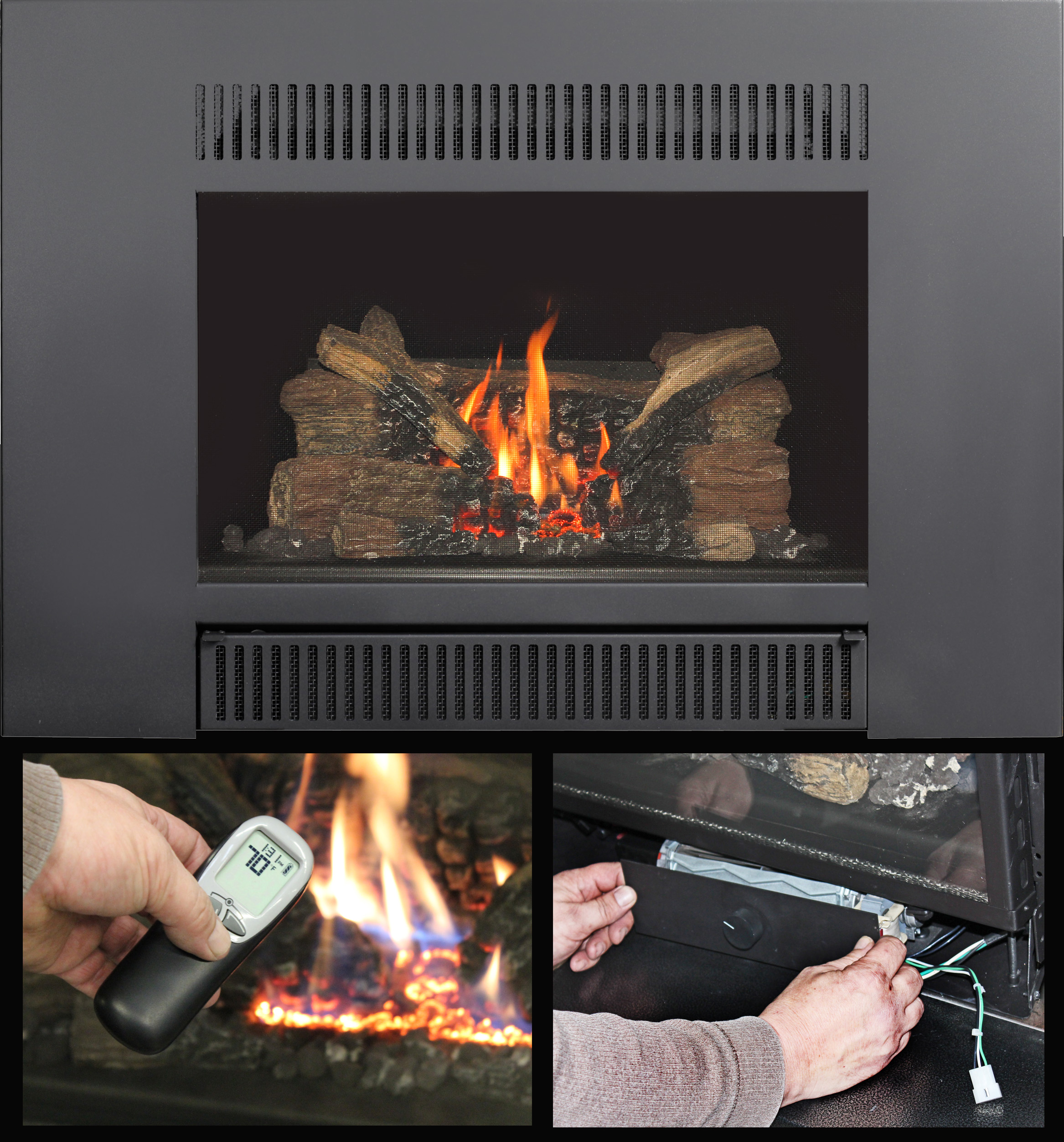 Avalon Gas Fireplace Inserts The Up And Coming Radiant Plus Gas Insert Travisdealernews