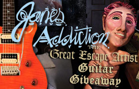 Win A Janes Addiction Signed Paul Reed Smith Guitar Win A Janes Addiction Signed Paul Reed Smith Guitar