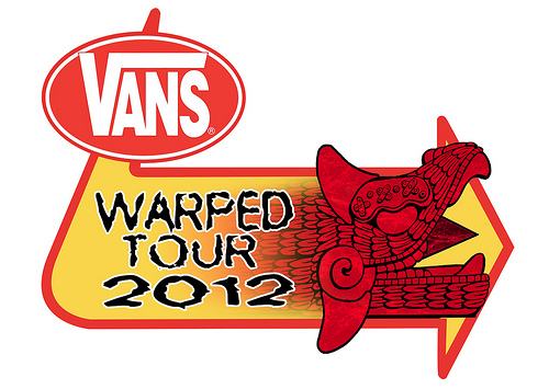 Warped Tour 2012 Vans Warped Tour 2012 Announce Stage Lineups