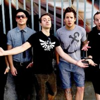 Mark Hoppus, Alex Gaskarth Writing With Simple Plan
