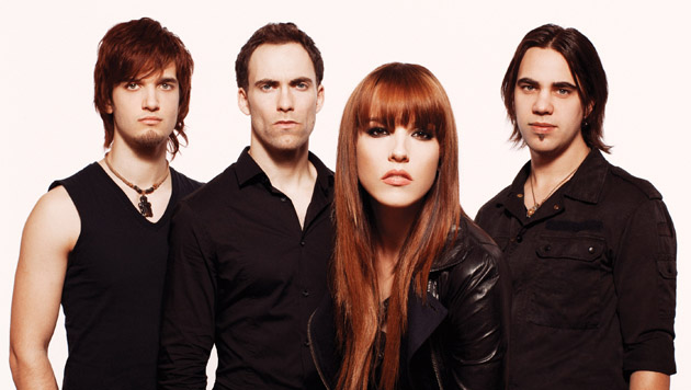 Halestorm Lzzy Hale And Lindsey Stirling Perform On ABC's 'Good Morning America'