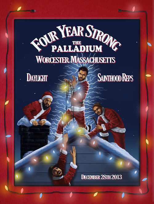 Four Year Strong Announce Holiday Show Support Four Year Strong Announce Holiday Show Support
