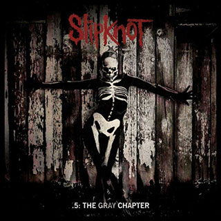 Slipknot '5 The Gray Chapter' Album Cover Artwork