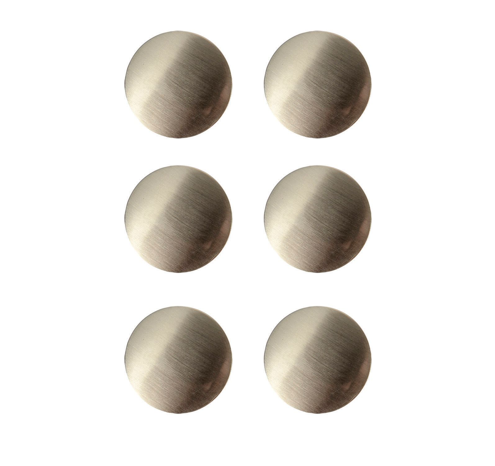 Wickes Victorian Knobs Brushed Nickel Finish 38mm 6 Pack Wickes Co Uk - Garden Furniture Clearance Near Me