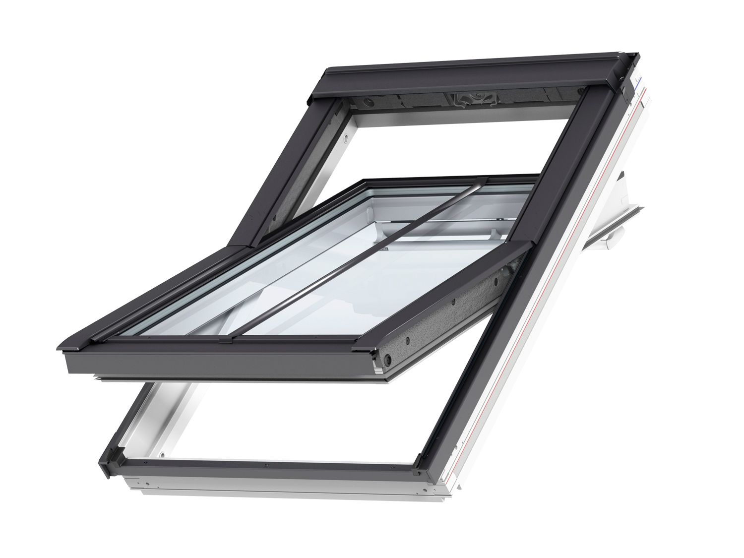 Ggl Mk04 Velux Integra Solar Roof Window 780mm X 980mm White Painted Ggl Mk04 206630