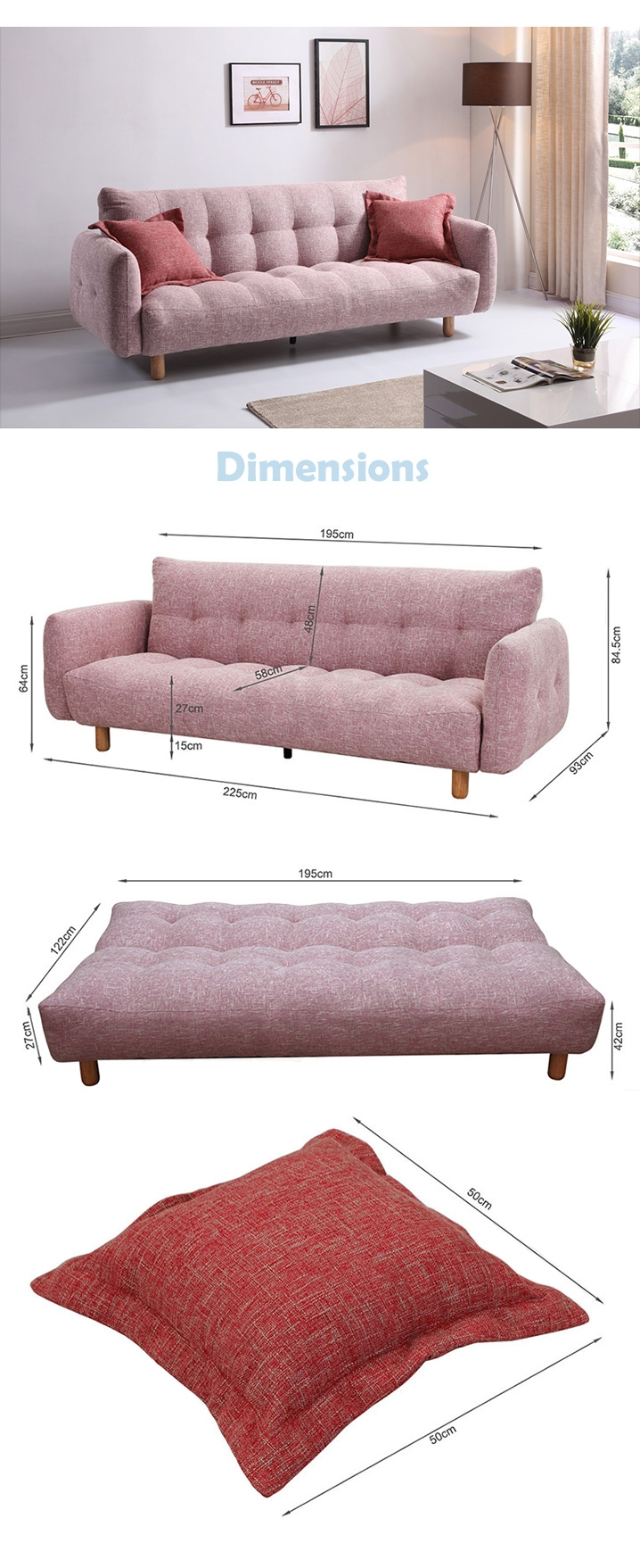 Sofa Beds Online Nz Colmar 3 Seater Sofa Bed