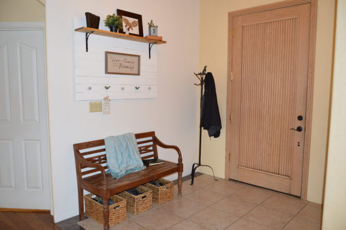 entryway makeover