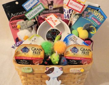 Large Cat Gift Baskets Treat Worthy