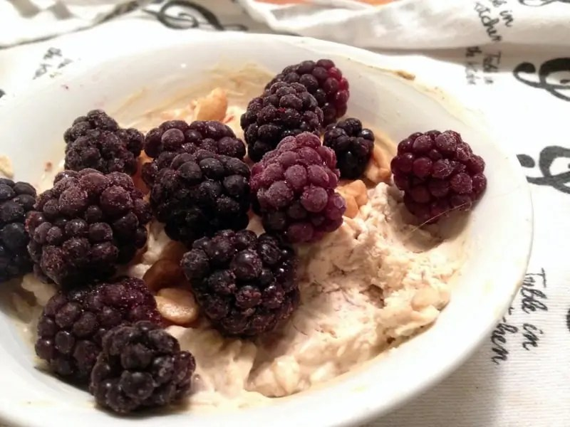 overnight oats breakfast