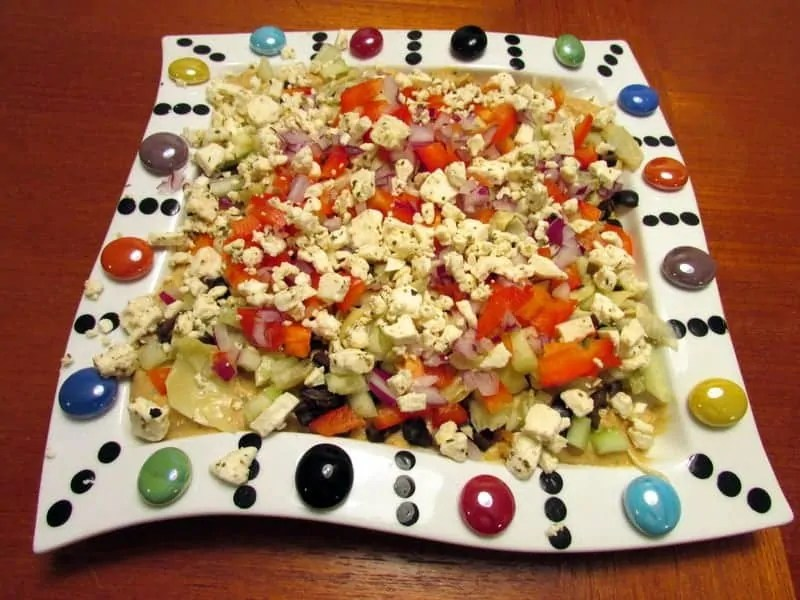 Greek layer dip 5