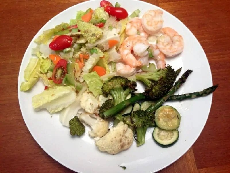 citrus shrimp dinner 2