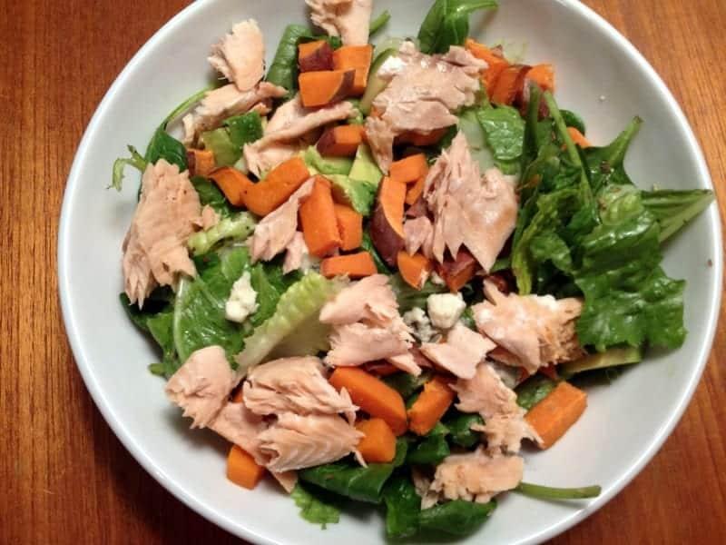 salmon salad 1