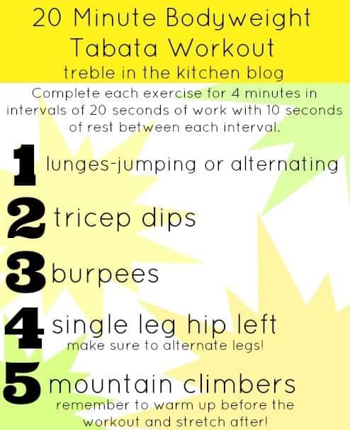 20 minute bodyweight tabata workout via treble in the kitchen.jpg