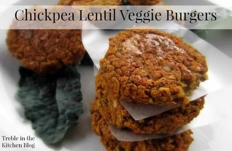 Chickpea Lentil Veggie Burgers via Treble in the Kitchen.jpg