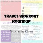 Travel Workout Roundup via Treble in the Kitchen