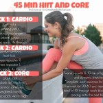 45 Min HIIT and Core