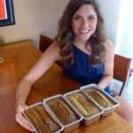 Healthier Zucchini Bread Recipe Project via Treble in the Kitchen
