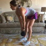Glute and Core Workout {Kettlebell + Bodyweight}