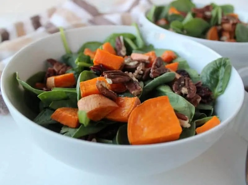 Simple Fall Salad from Treble in the Kitchen