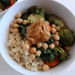 Roasted Veggie and Rice Power Bowl
