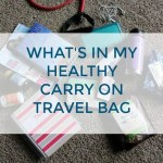 Healthy Travel Carry On from Treble in the Kitchen