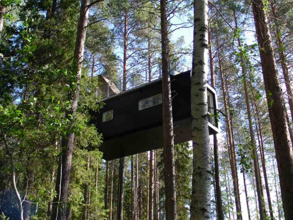 treehotel in sweden the cabin tree house maptree house map. Black Bedroom Furniture Sets. Home Design Ideas