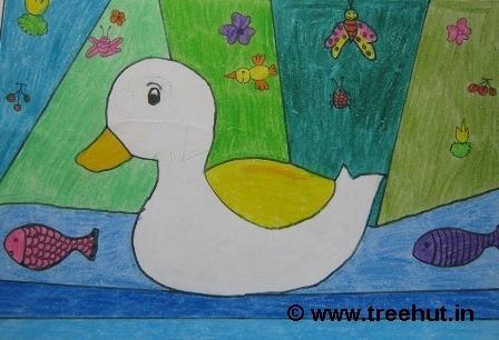 Abstract Art By Grade 3 Children