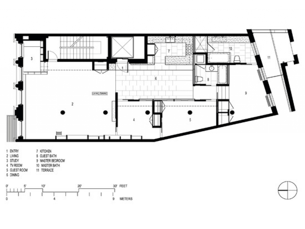 Loft House Plan Modern Loft Style House Plans Tall Modern Shed Roof Loft