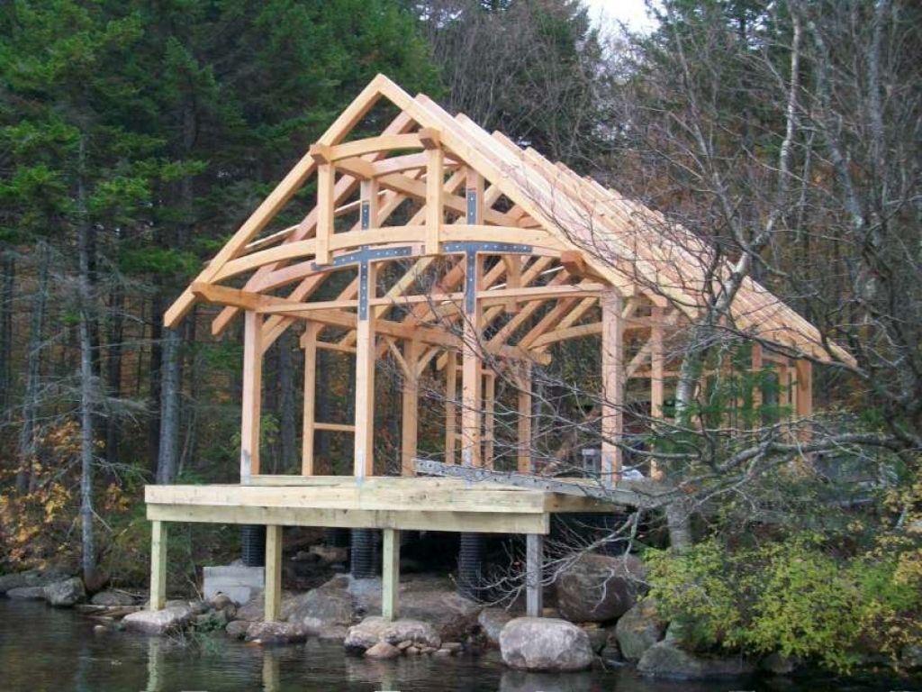 24x24 Frame Small Timber Frame Cabin Kits Small Post And Beam Cabins
