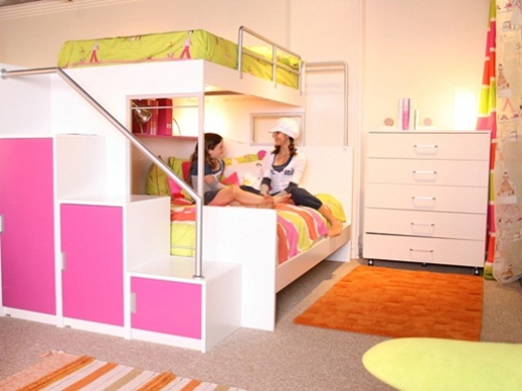 Bed For Teenage Girl Cool Bunk Beds For Teenage Girls Bunk Beds With Swirly