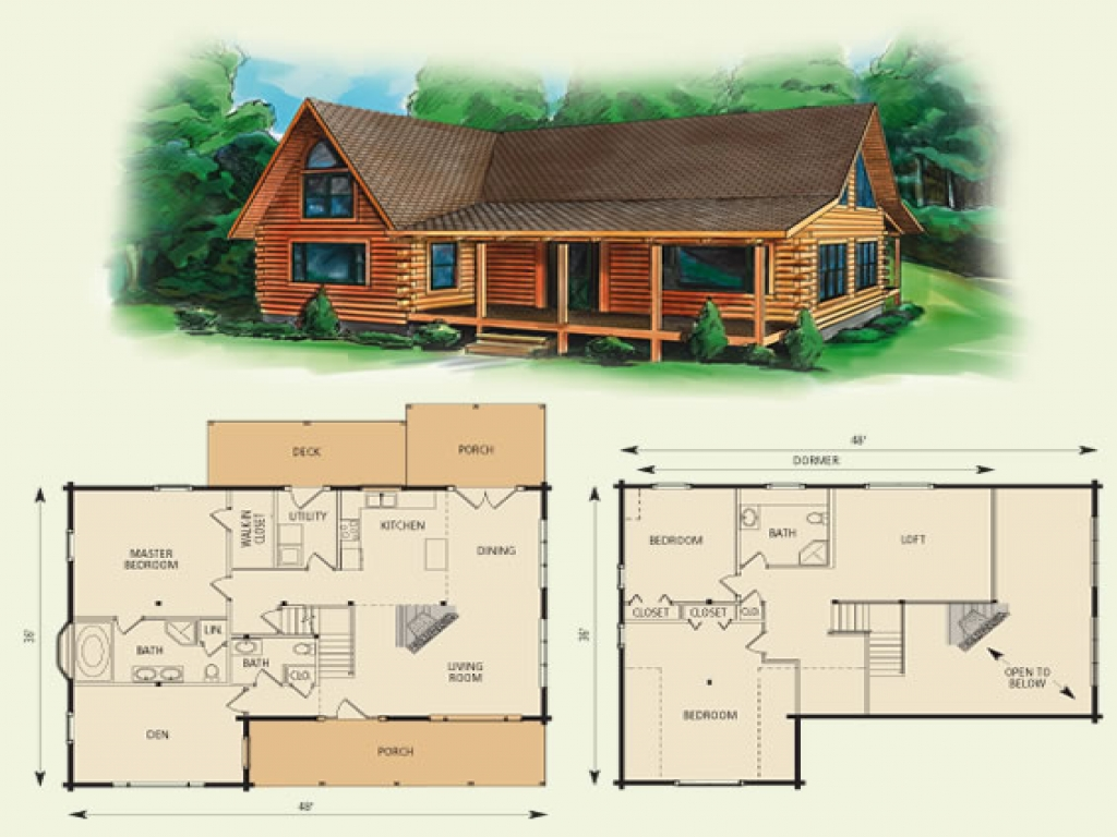 Loft House Plan Log Cabin Loft Floor Plans Small Log Cabins With Lofts