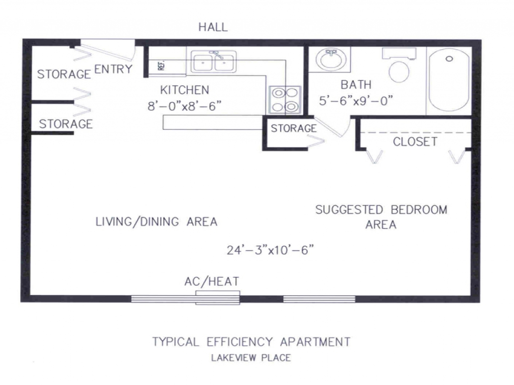 Efficiency Apartment Floor Plans Small Efficiency Apartments Floor Plans Micro Efficiency