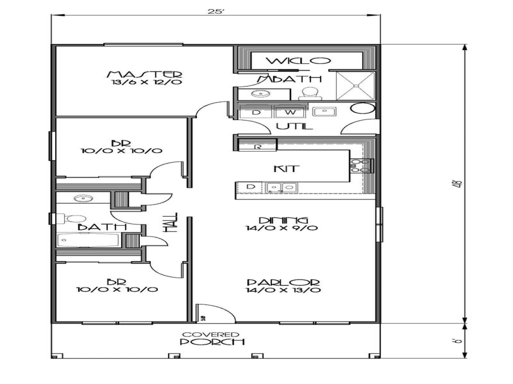 1500 Square Feet House Plans 1200 Sq Foot House Floor Plan 1500 Sq Ft House 1200 Sq