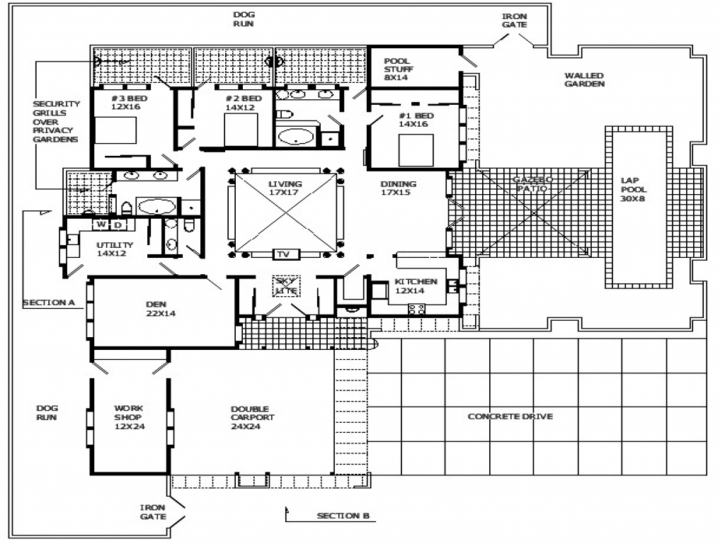 Modern Homes Floorplans Modern Open Floor Plans Modern Home Designs Floor Plans