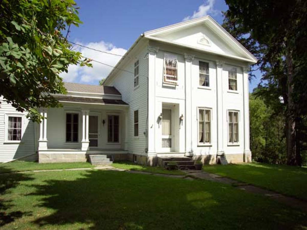 Greek Revival Farmhouse Architecture Georgian House Greek Revival House Restoration Old Time