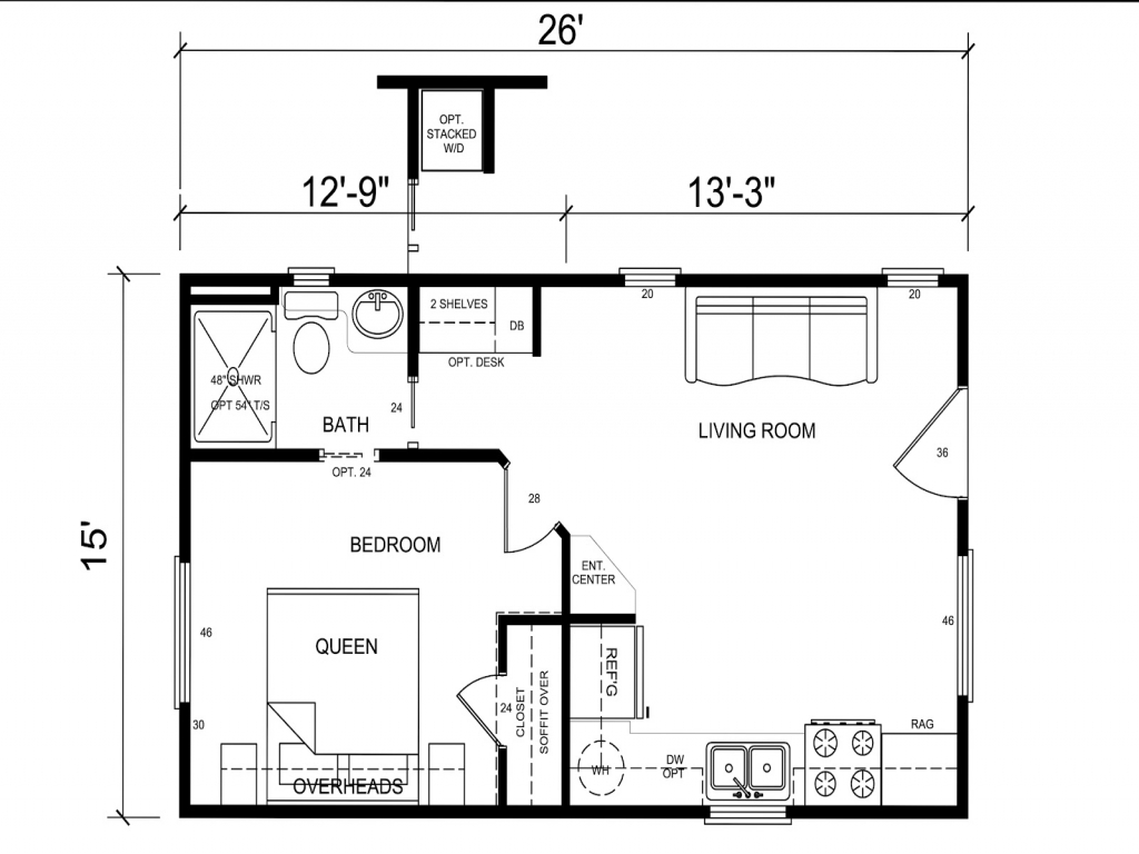 Tiny Home Floorplans Tiny House Floor Plans For Families Inside Tiny House