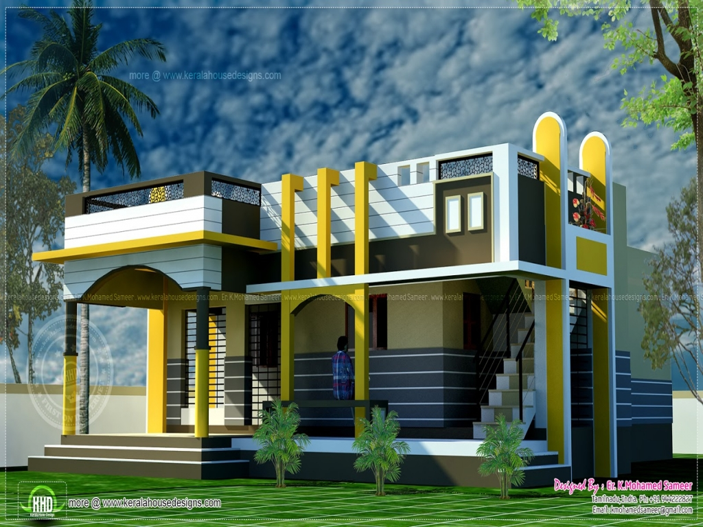 Designing A Small House Small Home Kerala House Design Kerala House Photo Gallery